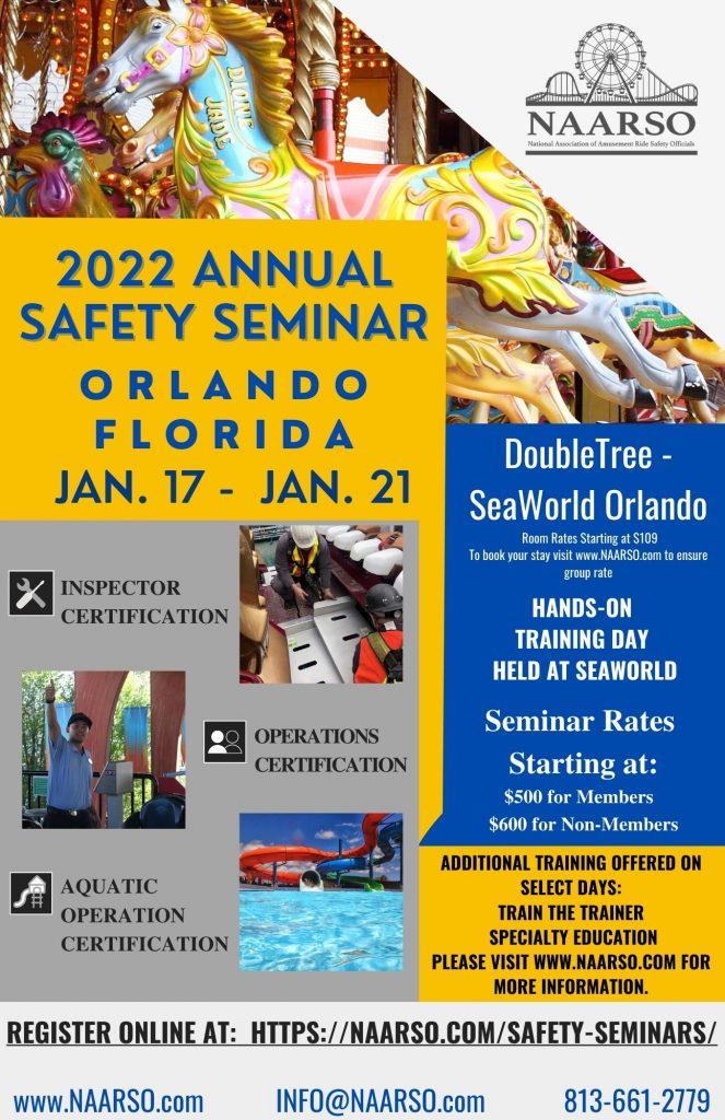 2022 Safety Seminar NAARSO